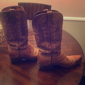 Woman's Lucchese cowgirl boots